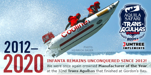 Infanta Inflatables crowned Manufacturer of the Year at the 32nd Trans Agulhas Challenge 2012-2020
